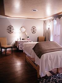 Blake and Company spa massage room – Front Royal, VA