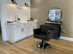 Barber Chair Station